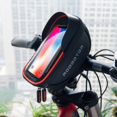 Addmotor Bike Cycling Bag Front Tube Handlebar Waterproof Touch Screen Cell Phone Case Storage