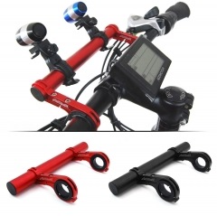 Addmotor Bike HandleBar Lamp Bracket Holder Extender Mount Extension 20CM