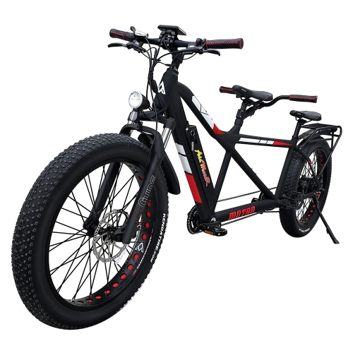 MOTAN M-250 750 Watt Electric Tandem Bicycle Built for Two