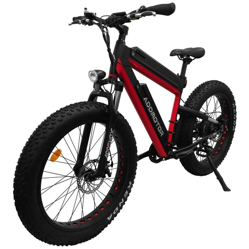 MOTAN M-B2 750W Dual Batteries Front Suspension 26 Inch Fat Electric Bike