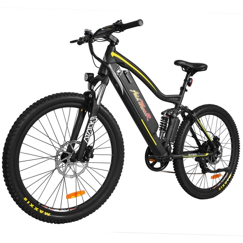 HITHOT Elektro-Fahrrad 500W Mountain E-Bike H1 Platinum